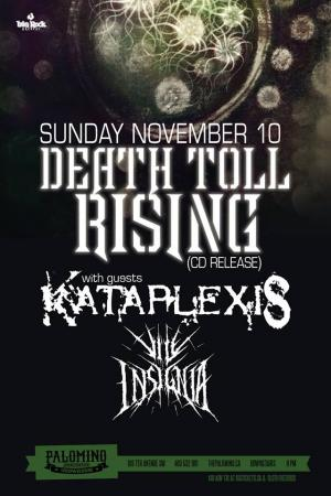 Death Toll Rising CD Release
